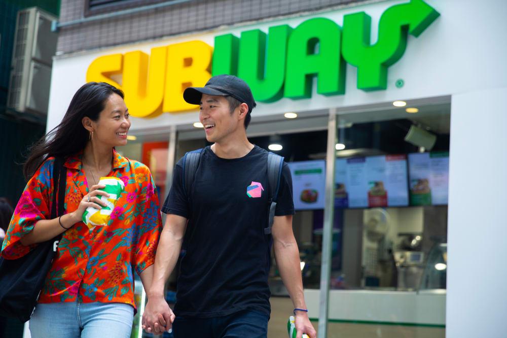 subway hong kong