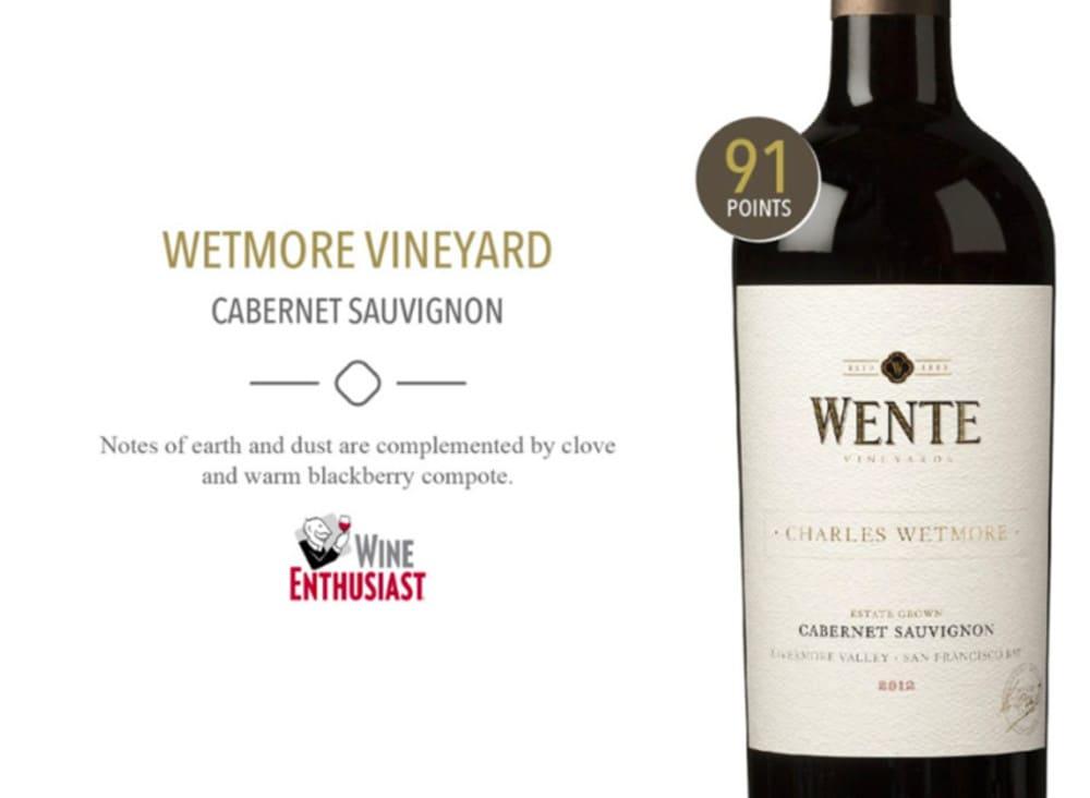 "Wente Charles Wetmore ""Single Vineyard"" Cabernet Sauvignon 2017"
