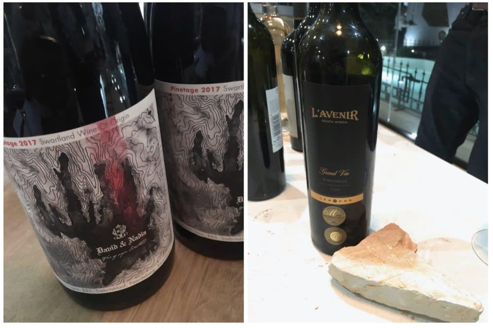 Pinotage bottles