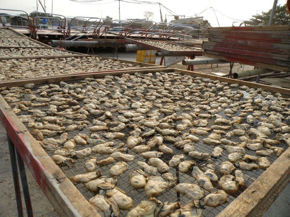 Lau Fau Shan dried oysters