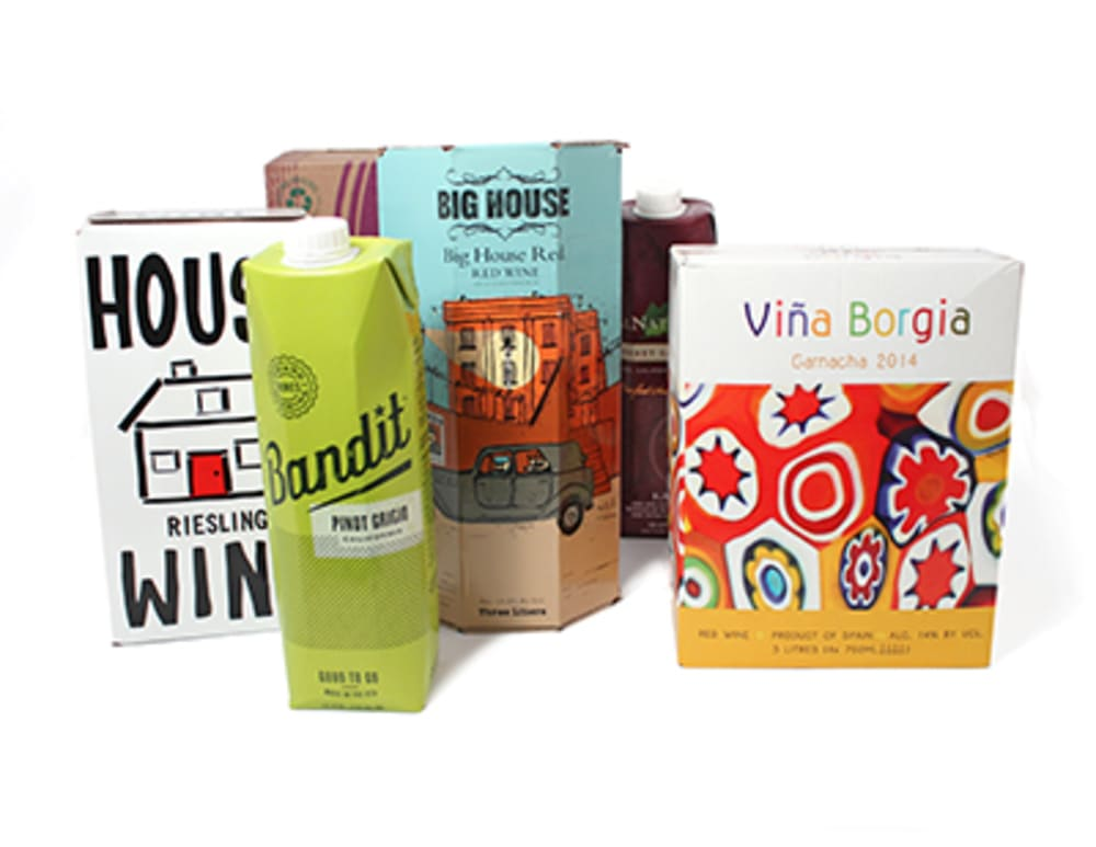 Box wines