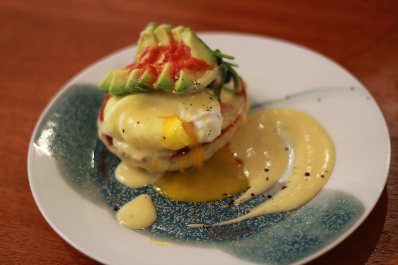 Eggs Benedict at Teakha II