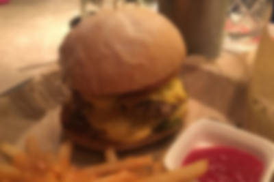 Possibly the Best Cheeseburger in Hong Kong at Bitters and Sweets