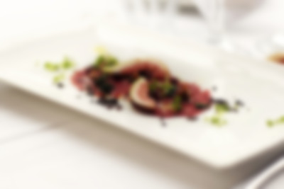 Recipe: Beef and Date Carpaccio with Goat's Cheese, Dill and Capers