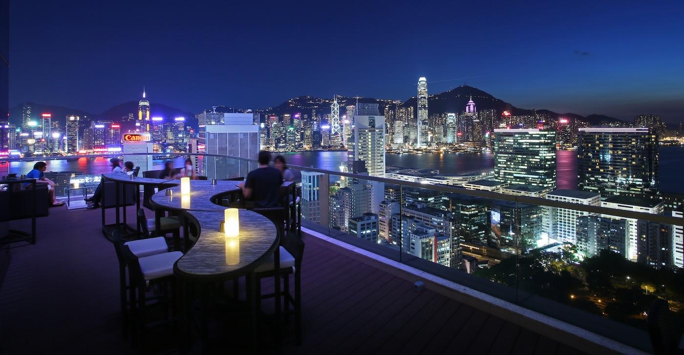 The Best Rooftop Bars In Hong Kong Foodie
