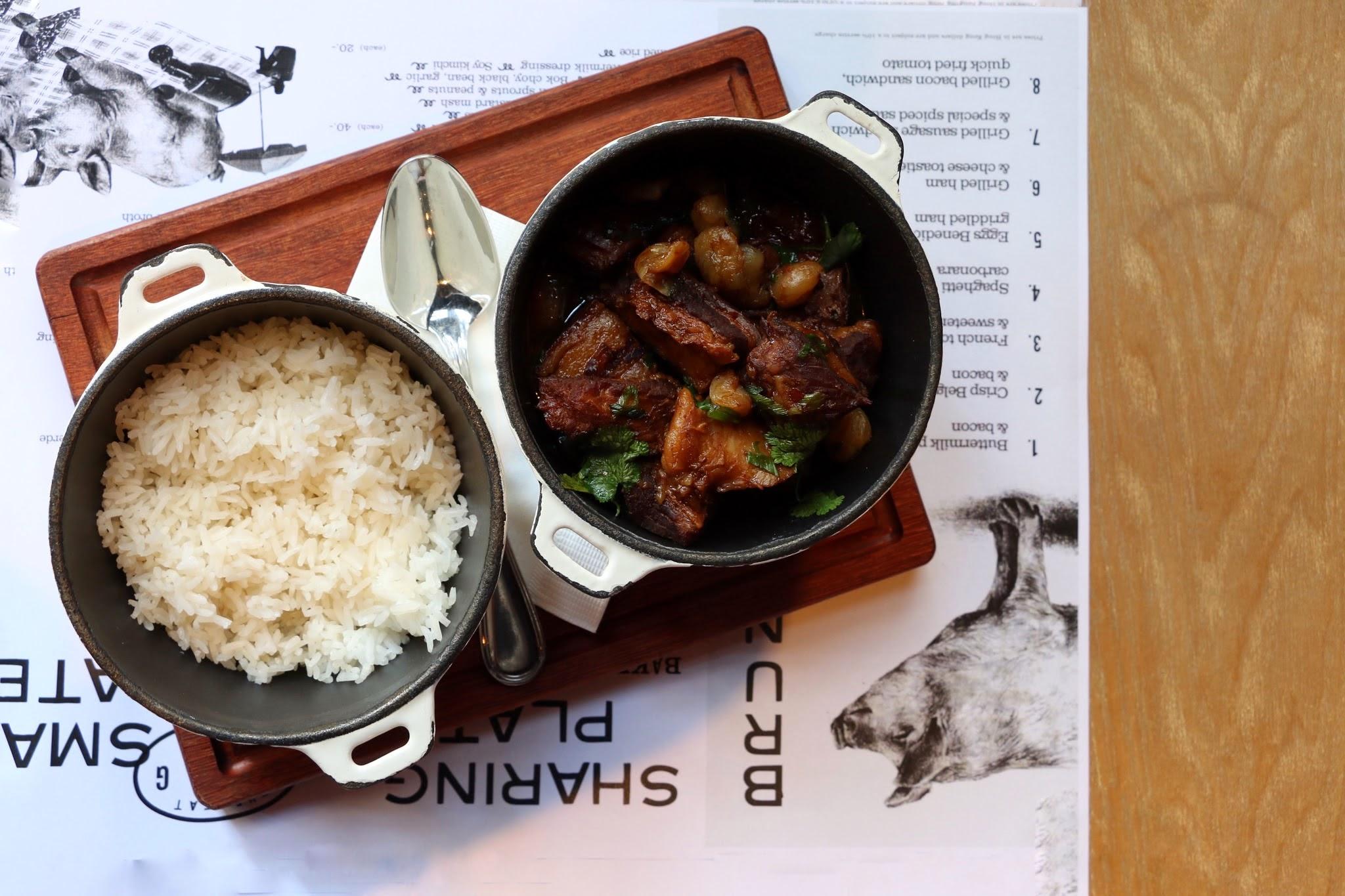 胖猪,猪肚龙眼米饭
