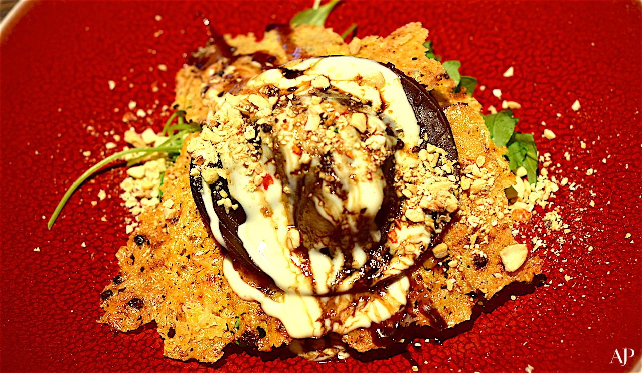 Cocoa Ravioli stuffed Butternut Squash