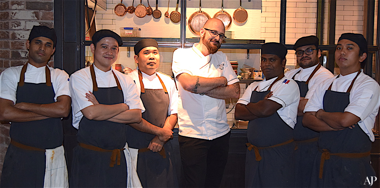 Chef James & The Coca Team