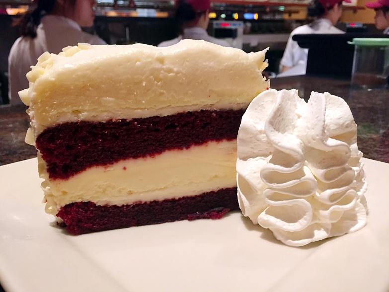Red Velvet at Cheesecake Factory HK