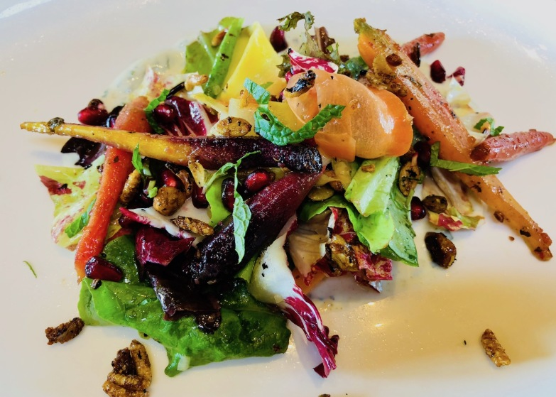Vadouvan Spiced Carrot Salad, Cakebread Cellars