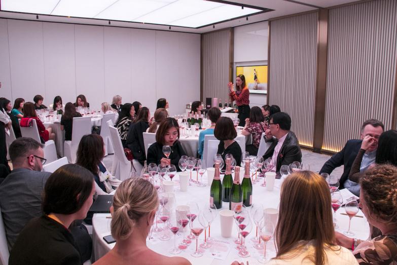 Veuve Clicquot Rose Workshop with Gaelle Goossens (courtesy Meiburg Wine Media)