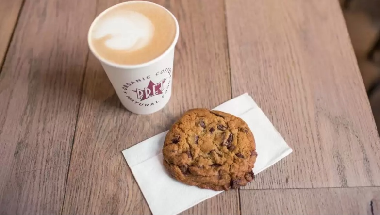 Pret A Manger Chunky Chocolate Cookie