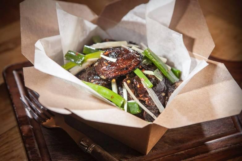 Flying Pig Deli, The Mushroom Salad