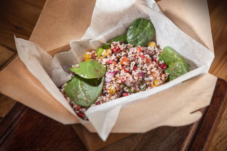 The Quinoa and Pomegranate Salad, Flying Pig Deli