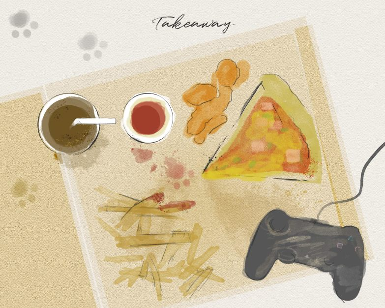 Modern Takeaway Dinner