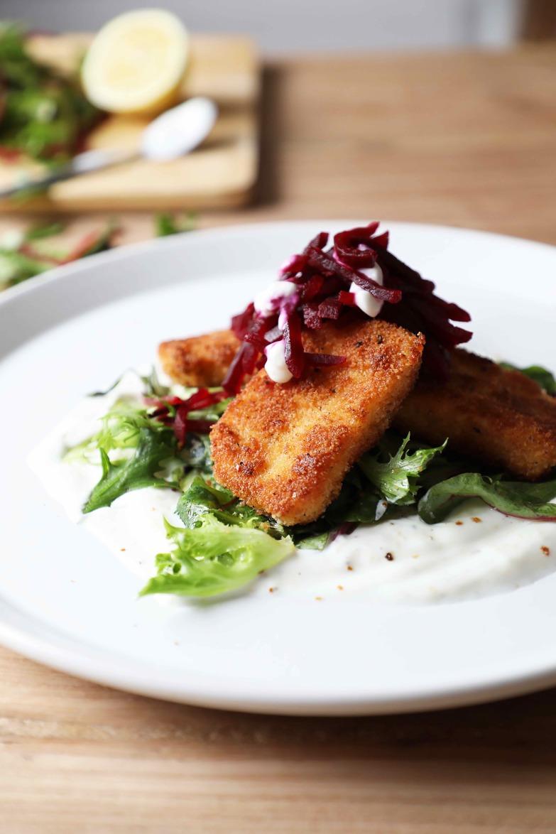 Recipe: Halloumi & Beetroot Salad | Foodie