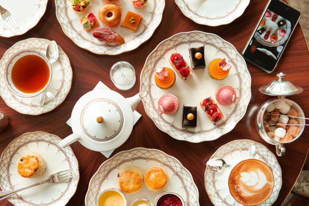 Grand Hyatt Tiffin Afternoon Tea