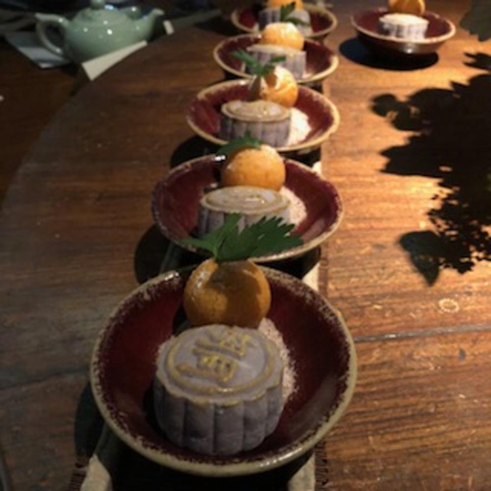 Lava Chocolate Dumplings and Mooncakes