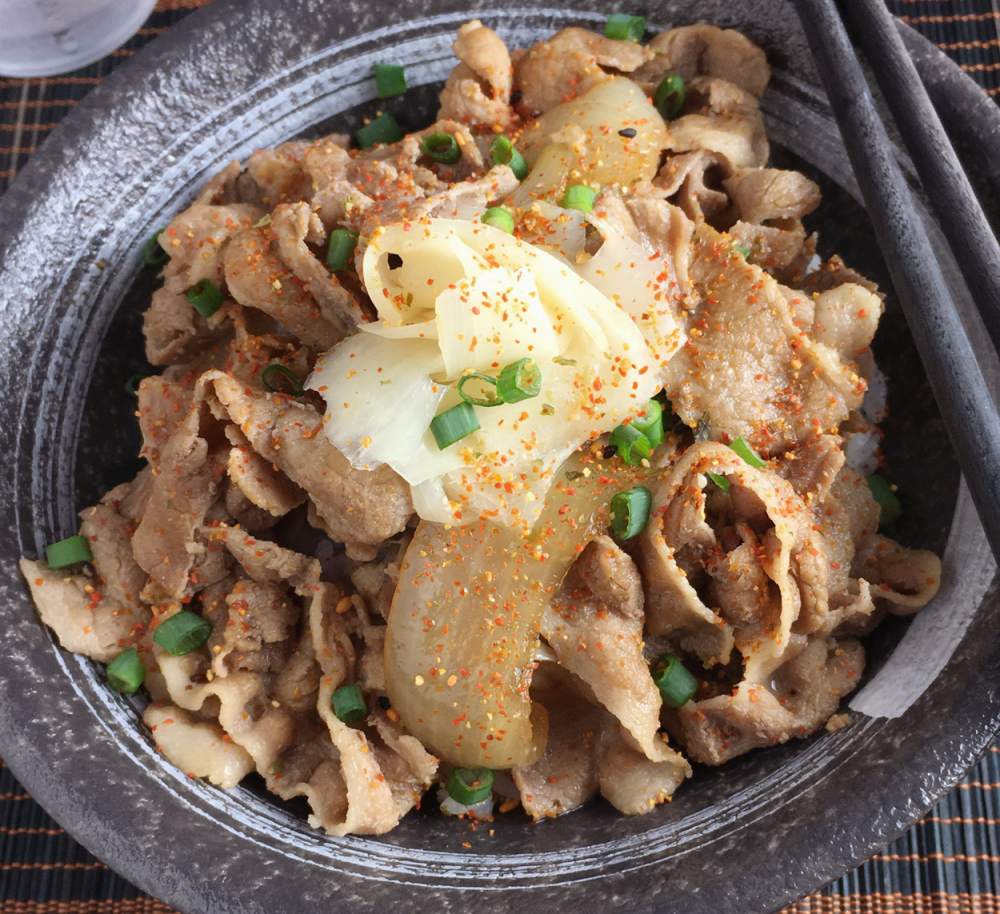 Butadon recipe