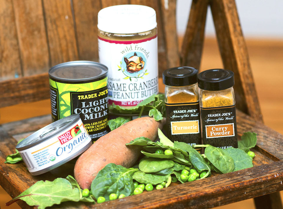 Campfire Fuel: The Sweet Potato + Sweet Potato Peanut Butter Curry Recipe
