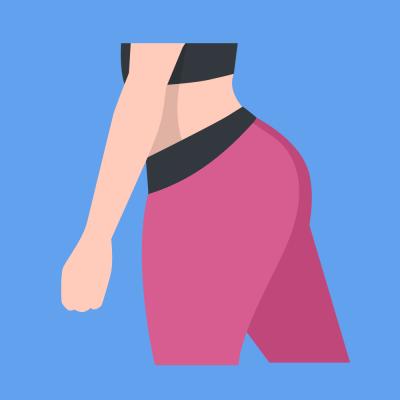 Butt & Hips