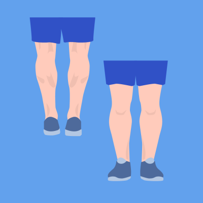 Legs - Calves and Shins