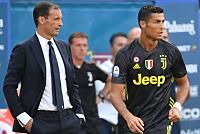 Juventus coach Ronaldo does not...