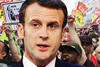Emmanuel Macron crisis: Support...