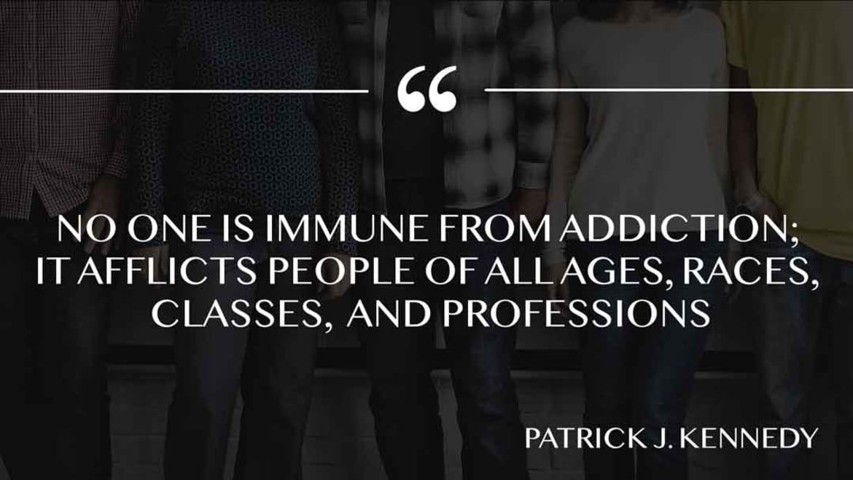 Immune from addiction