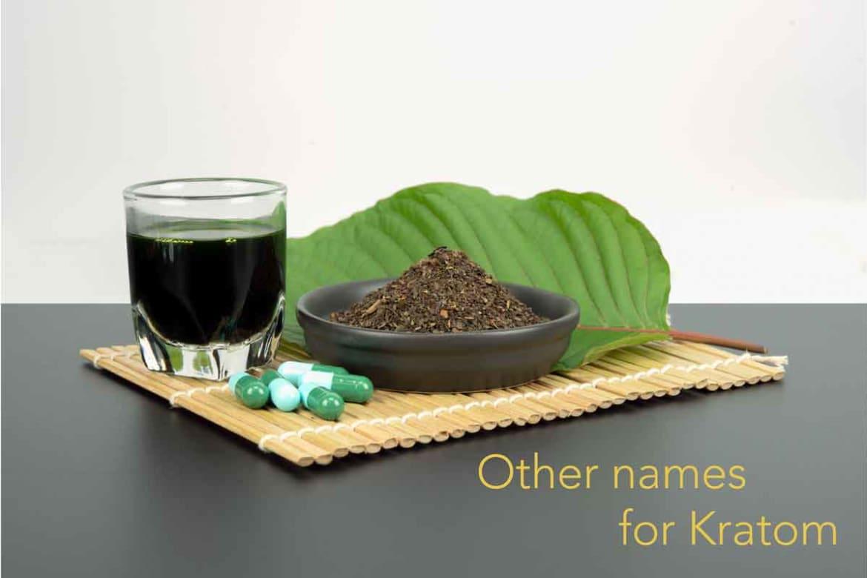 Other Names for Kratom