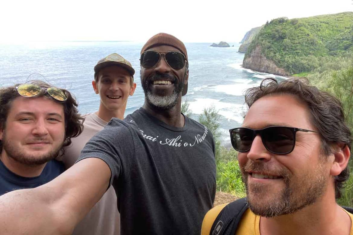 Pololu Valley with Patients