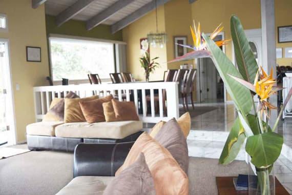 Main Living Room | Sofa | Hawaii Island Recovery