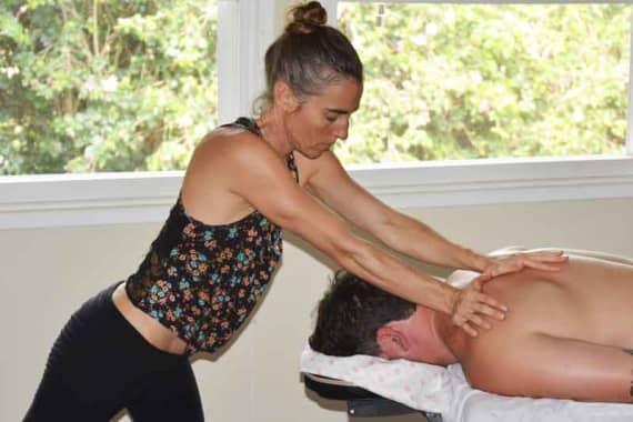 Massage at Hawaii Island Recovery