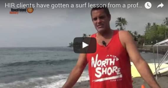 Professional surfer taught clients how to surf