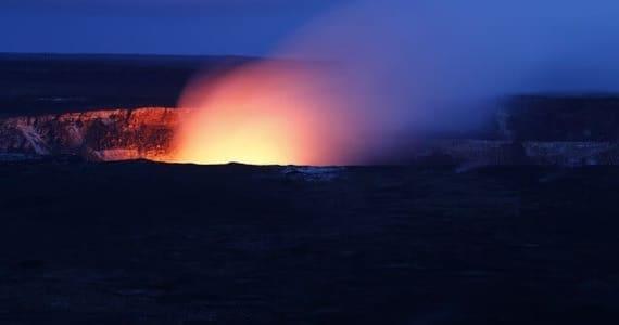 Kilaulea volcano in Hawaii
