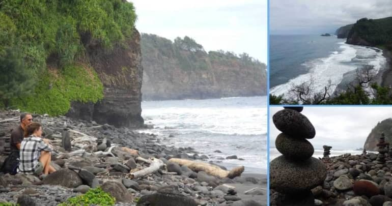 Last Saturday the clients went for a hike in Pololu Valley