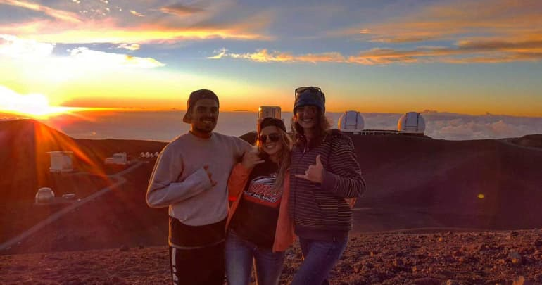 Clients have reached the top of Mauna Kea | Hawaii Island Recovery