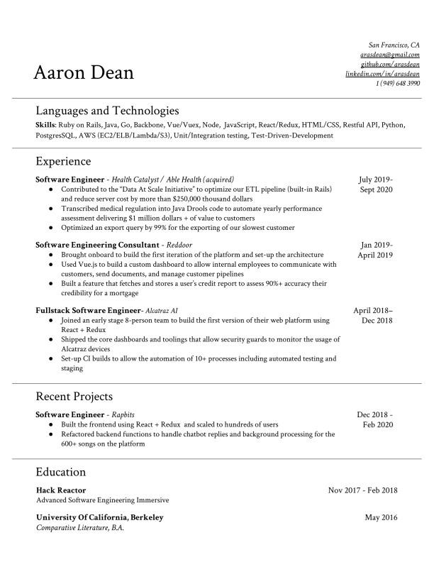 Aaron-Dean-Resume-fullstack