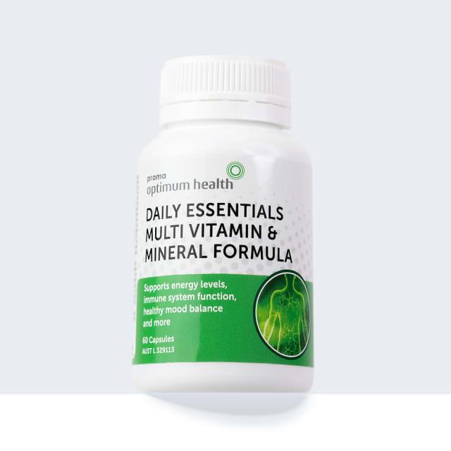 Daily Essentials Multi-Vitamin & Mineral Formula