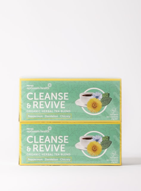 Cleanse & Revive Organic Herbal Tea Blend