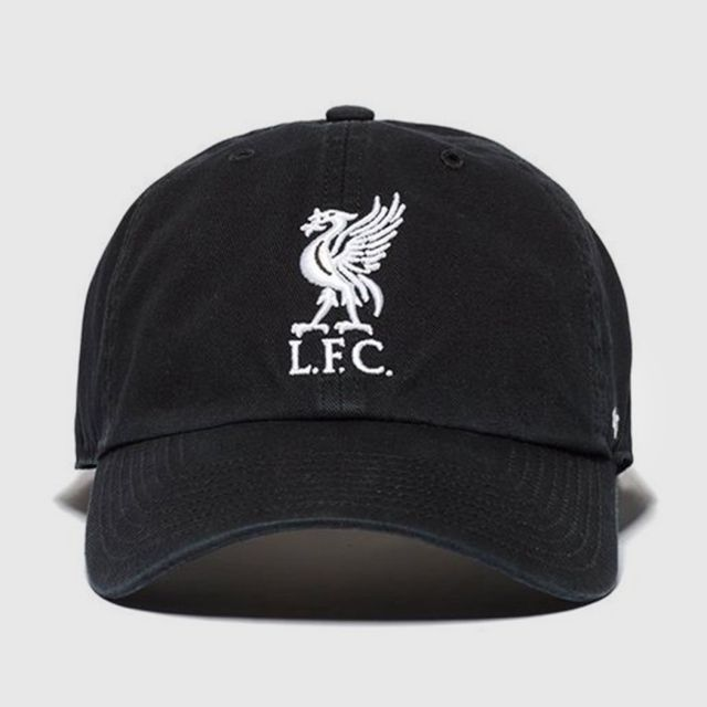 4d9efa1670d Home-Accessories-Hats   Caps-47 Liver Bird Logo Liverpool Fc  47 Clean Up  Black White-