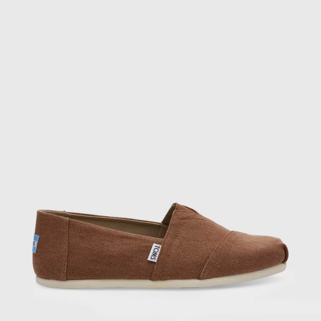 2de46cecfbf Home-Shoes-Slip-Ons-TOMS Seasonal Classics - Rust Washed Canvas-