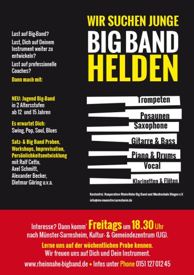 Wir suchen Big Band Helden