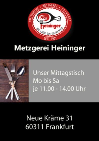 Metzgerei Heininger