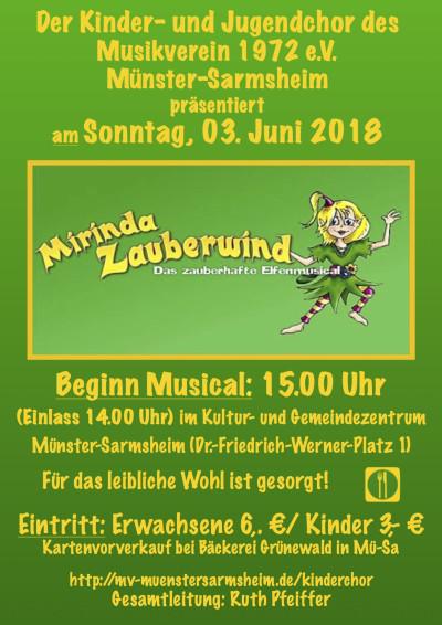 Mirinda Zauberwind - das zauberhafte Elfenmusical
