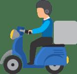 Delivery de entregas com rota de mapa