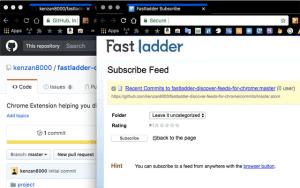 Fastladder Discover Feeds for Chrome