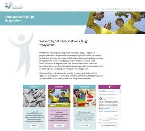 website Kennisnetwerk Jeugd Haaglanden