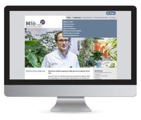 Website MSB Isala Zwolle