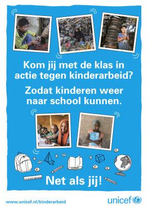 Actiepakket UNICEF kinderarbeid